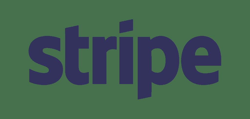 Stripe logo slate lg